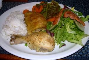Sunday night chicken dinner