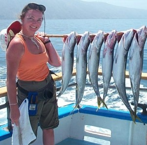 Yellowtail at San Clemente Island