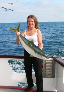 My biggest yellowtail of the trip
