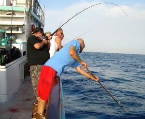 Gaffing Danny's tuna